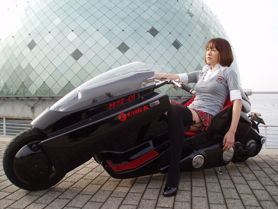 M2z 01 Japan Custom Scooter Motomag