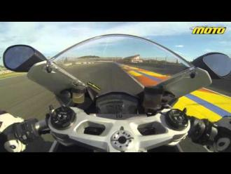 Ducati Panigale 959 2015 - Test ride on track - on board