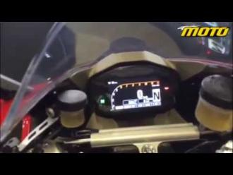 Ducati Panigale 1299 S/R 2015 at Portimao - Static video-low quality from mobile phone!!