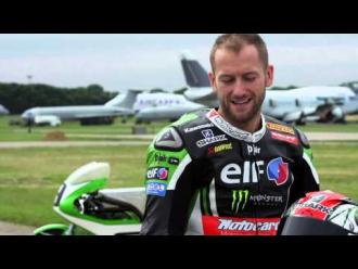Ninja H2R and 1974 H2R - Tom Sykes is a lucky man !
