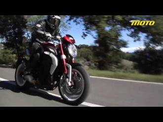 MV Agusta Brutale and Dragster 800 RR, first test and review!!