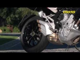 MV Agusta Stradale 2015 First Test Ride-Review, Crazy onboard video