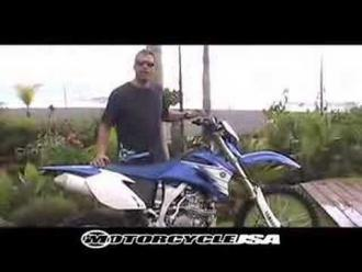 Dirt Bike Review - Yamaha WR250F & WR450F